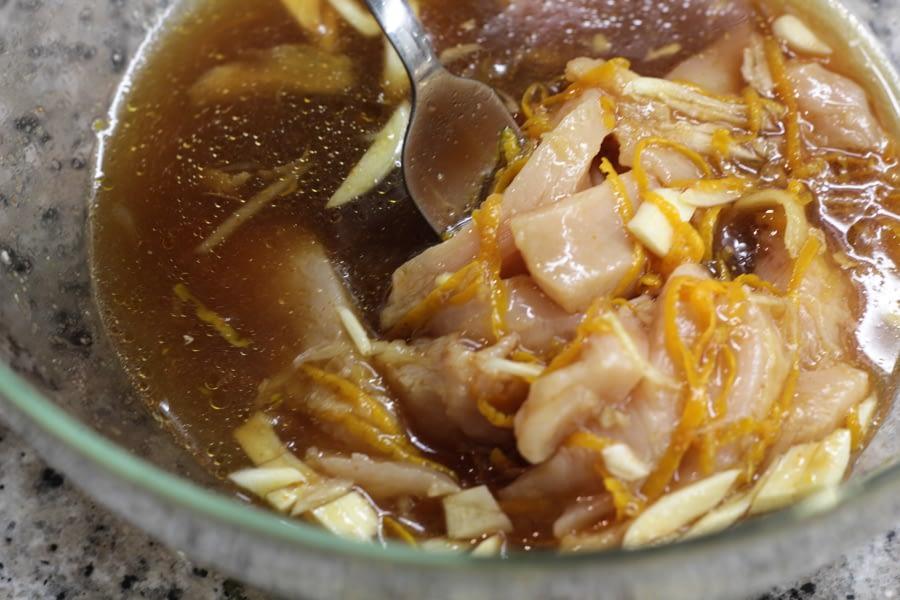 orange chicken marinade